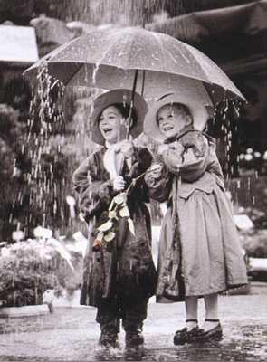 حب تحت المطر